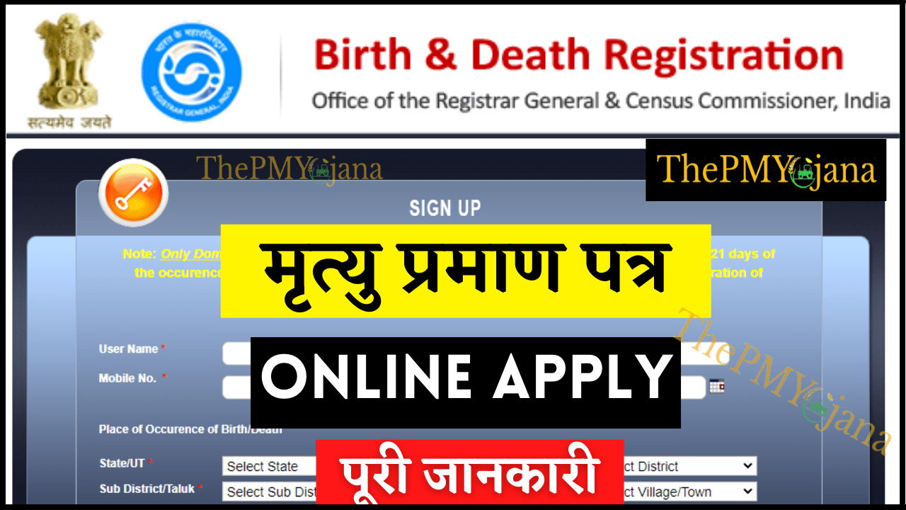 Death Certificate (Thepmyojana)